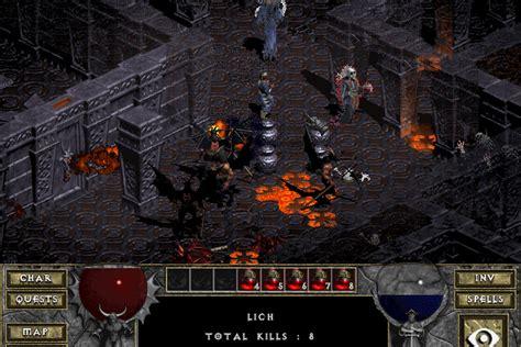diablo  gog  includes  hellfire expansion polygon