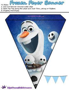 free printable olaf birthday banner 1000 images about frozen party on pinterest disney