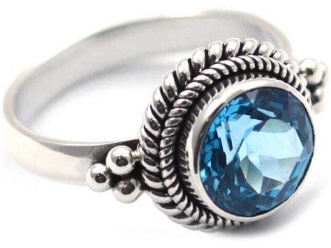 Blue Topaz Memo C 029 sterling silver bali blue topaz ring kuhn s jewelers