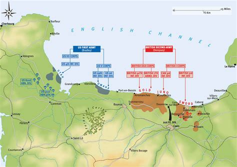 d day map d day plan of operations on 6 june 1944