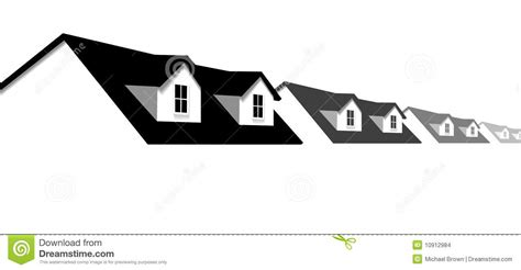 house border design home row houses border with dormer roof windows stock images image 10912984