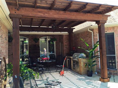ceder patio cover modern patio outdoor