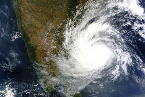 images of vardah takes aim at india image of the day