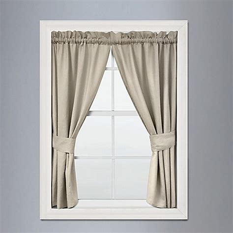 curtains 32 inches long buy veratex vintage ruffle 45 inch x 32 inch window