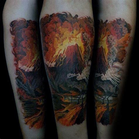 volcano tattoo 864 best tattoos for images on tattoos for