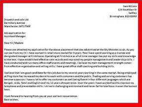 how to get a job covering letter examples for assistant