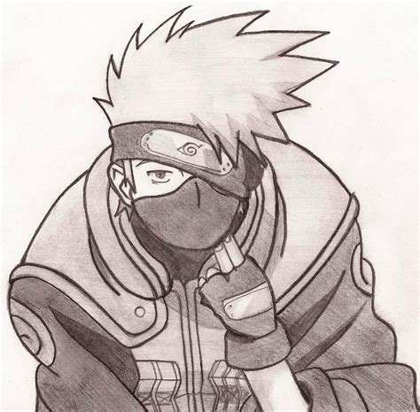 Drawing Kakashi by Kakashi Hatake By Ramenfangirl On Deviantart