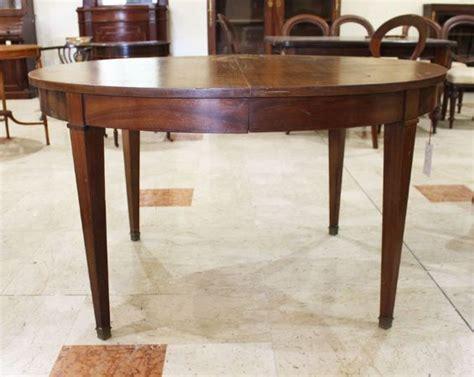 tavolo ovale allungabile antico tavolo da pranzo ovale allungabile antiquariato su