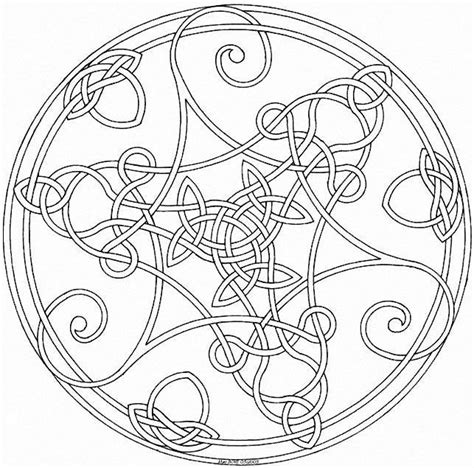 coloring books for grown ups celtic mandala coloring pages mandalas the contemplative cottage