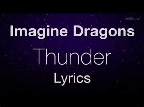 imagine dragons thunder lyrics (j.fla cover) youtube