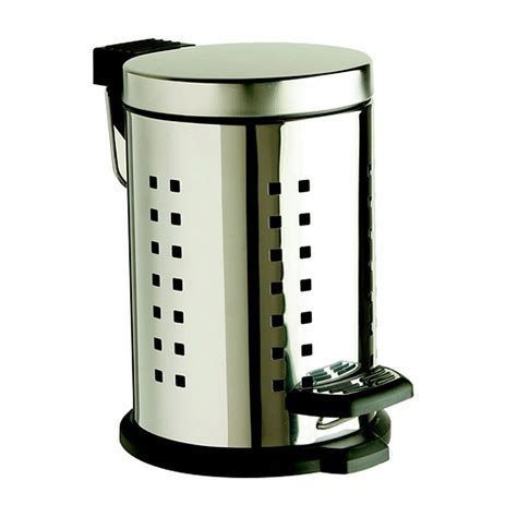Heritage 3 Litre Stainless Steel Pedal Bin Victorian Heritage Bathroom Accessories