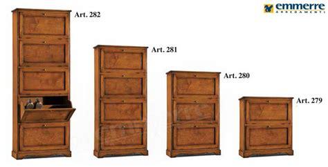 armadio scarpiera legno emejing scarpiera legno massello ideas ameripest us