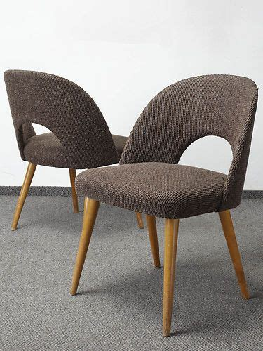 pair of retro 50s 60s dining chairs cocktail chair vintage