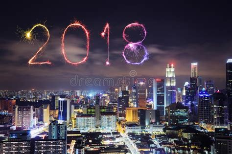 new year sale in singapore 2018 2018 happy new year firework with singapore cityscape at