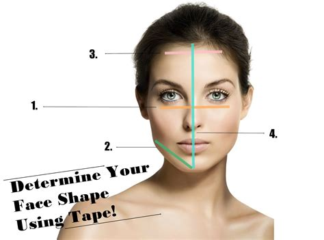 determine face shape online face shape measurement calculator vanitycasebox how to