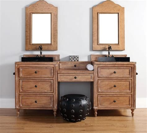 bathroom vanity with makeup homethangs com has introduced a guide to building a bathroom makeup vanity