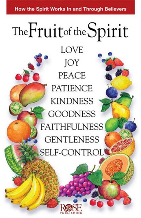bible verse fruit of the tree fruit of the spirit the by publishing for the