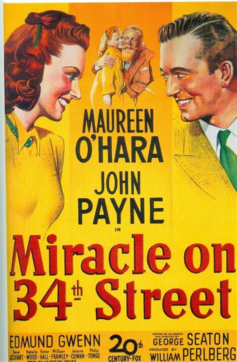 Miracle On 34th 1947 Miracle On 34th 1947 Childhood Tv Shows