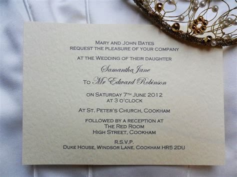 uk wedding invites a6 single sided wedding invitations from just 60p each