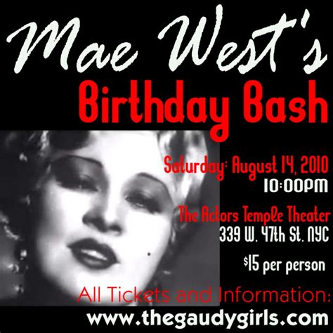 Mae West Birthday Quotes Birthday Mae West Quotes Quotesgram