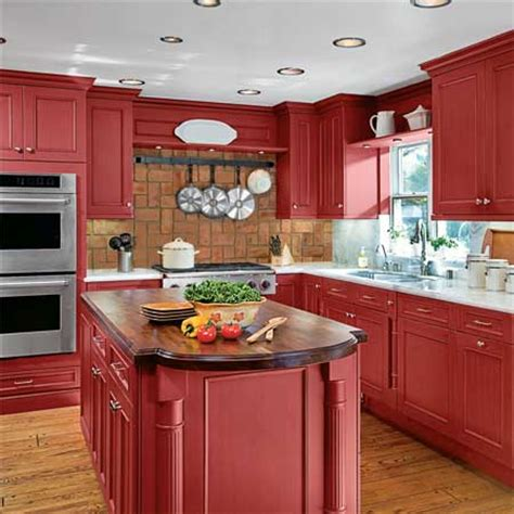 red cabinet kitchen kitchen design and decoration pictures photos of home