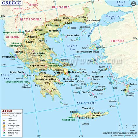 greece on map vedic cafe