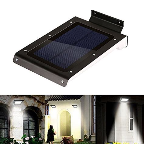 Solar Lights For Garage Kohree 174 Bright 46 Led Solar Motion Sensor Lights Wireless