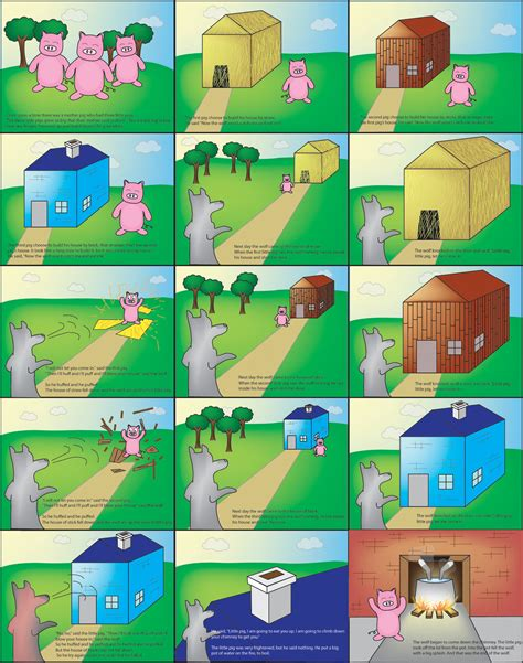three story 3 little pigs story by mxpmxp on deviantart