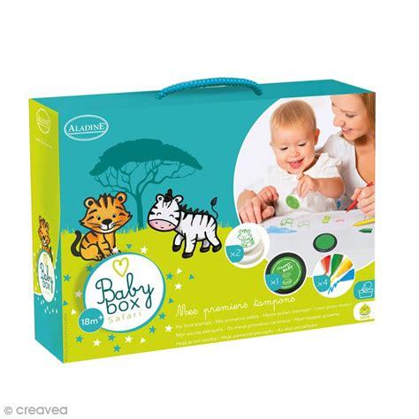 Box Baby Creatif Baby coffret cr 233 atif baby box safari avec tons encreurs