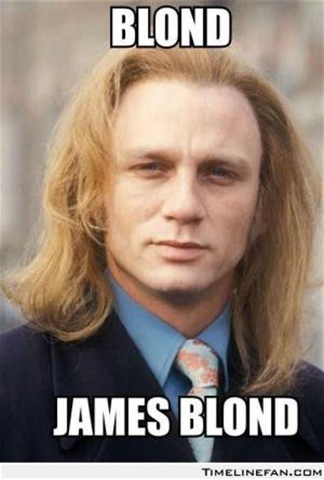 Funny Blonde Memes - james bond jokes kappit