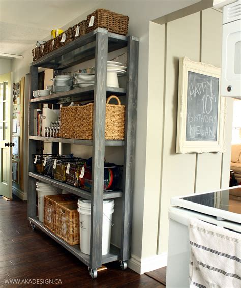 Rolling Shelves For Pantry by Rolling Kitchen Pantry Shelves