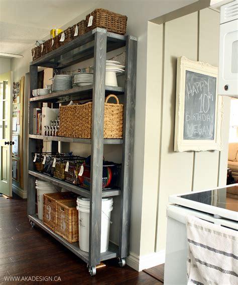 Rolling Kitchen Pantry by Rolling Kitchen Pantry Shelves