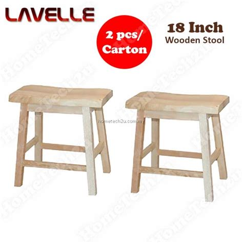 18 Inch Height Stool by Lavelle 18 Inch Wooden Stool Wooden Rectangle Stool