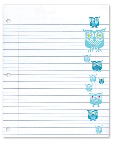 free cute printable notebook paper 148 best colorful and cute paper for projects images on