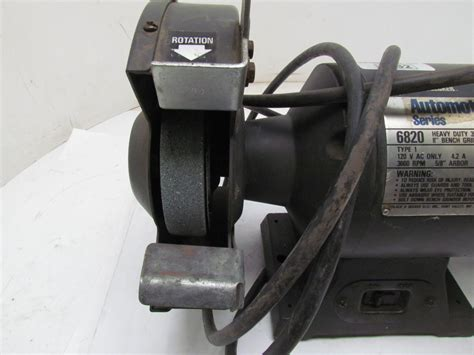 black and decker 5 inch bench grinder black decker automotive heavy duty bench grinder 3 4hp 8