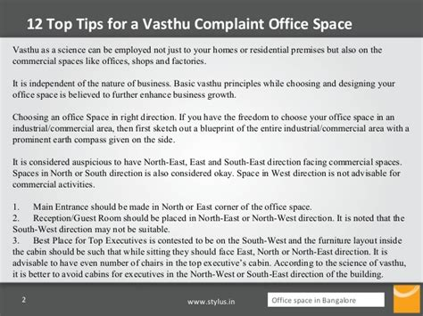 12 Top Tips For A Vasthu Complaint Office Space Vastu Shastra For Office Desk
