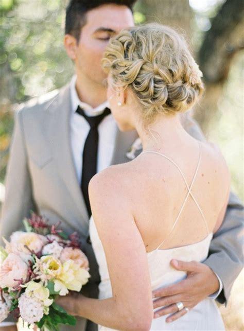 Brautfrisur Geflochten Frisur Die Eleganz Und Klasse Hairdos For Thin Hair For Weddings