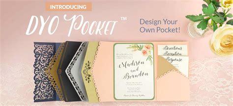 Pocket Card Wedding Invitations