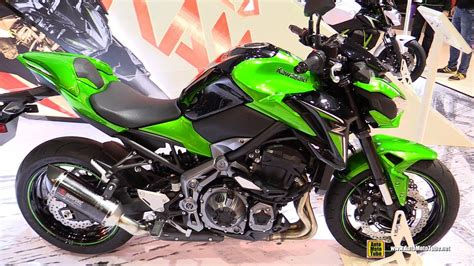 Z900 Tieferlegen by 2017 Kawasaki Z900 Walkaround Debut At 2016 Eicma