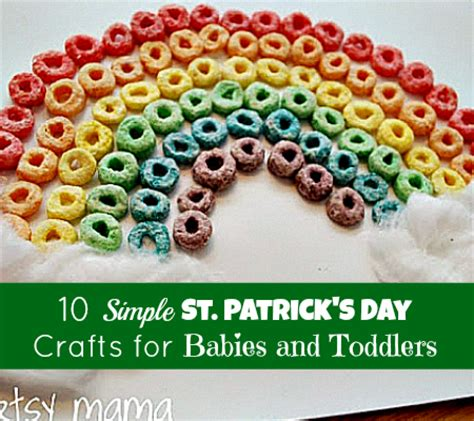 crafts for babies and toddlers simple st s day crafts for babies and toddlers