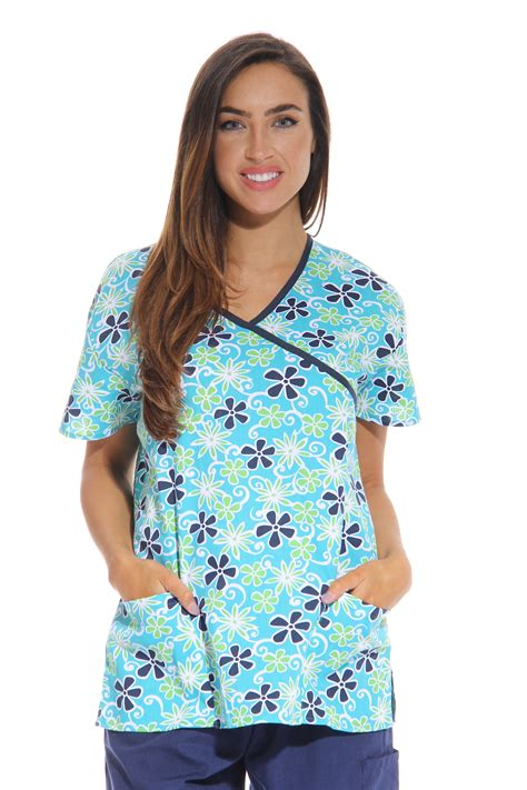 scrub tops just s scrub tops scrubs nursing scrubs ebay