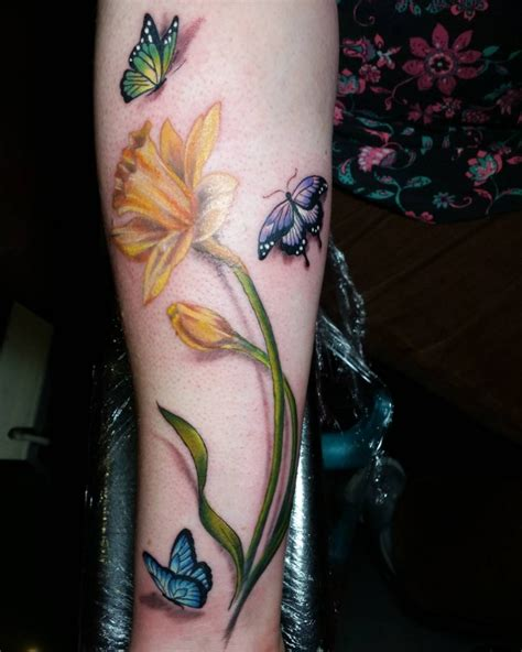 daffodils tattoo pictures to pin on pinterest tattooskid