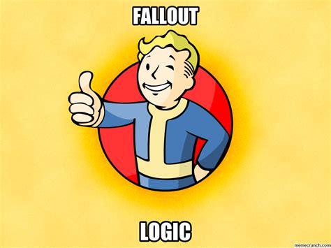 Vault Boy Meme - fallout logic