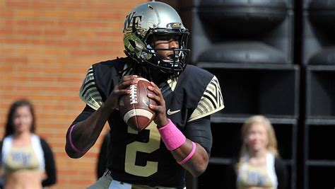 No More Fulll Time Mba For Wakeforest by Forest S Likely Starting Qb Kendall Hinton Te