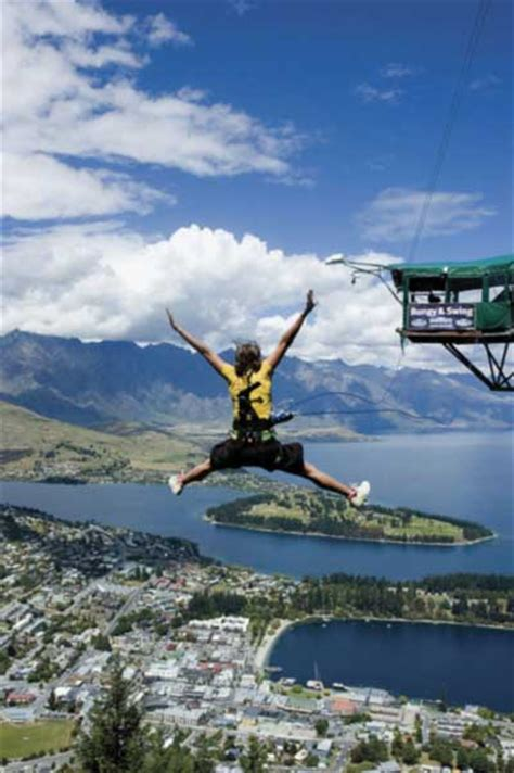 new zealand bungee swing bungee jumping new zealand travel guide