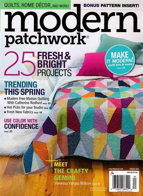 Modern Patchwork Magazine - designs