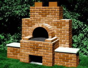 backyard bbq brick grill and fire pit designs