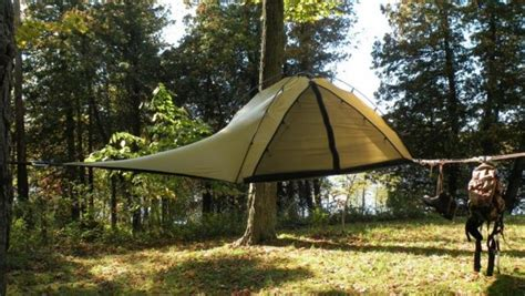 Building A Tent Platform by 6 Suspended Tree Tents For A Lighter Than Air Camping