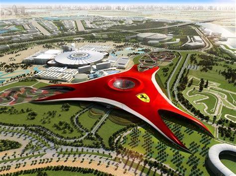 Ferrari Land In Dubai by Abu Dhabi Tourist Attractions In Abu Dhabi Tourist