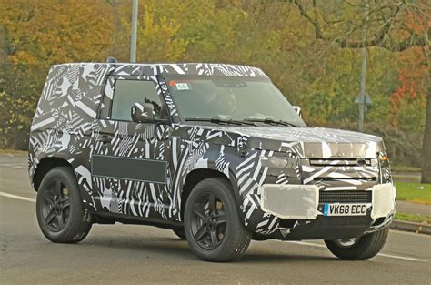 New Land Rover Defender 2020 by New Land Rover Defender Spotted In Wheelbase Form